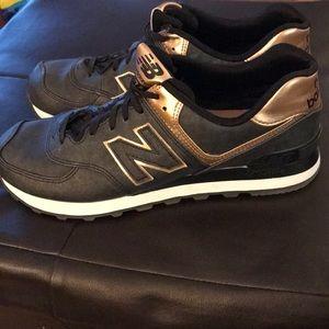 New Balance Gym Shoes Rose Gold Size 9
